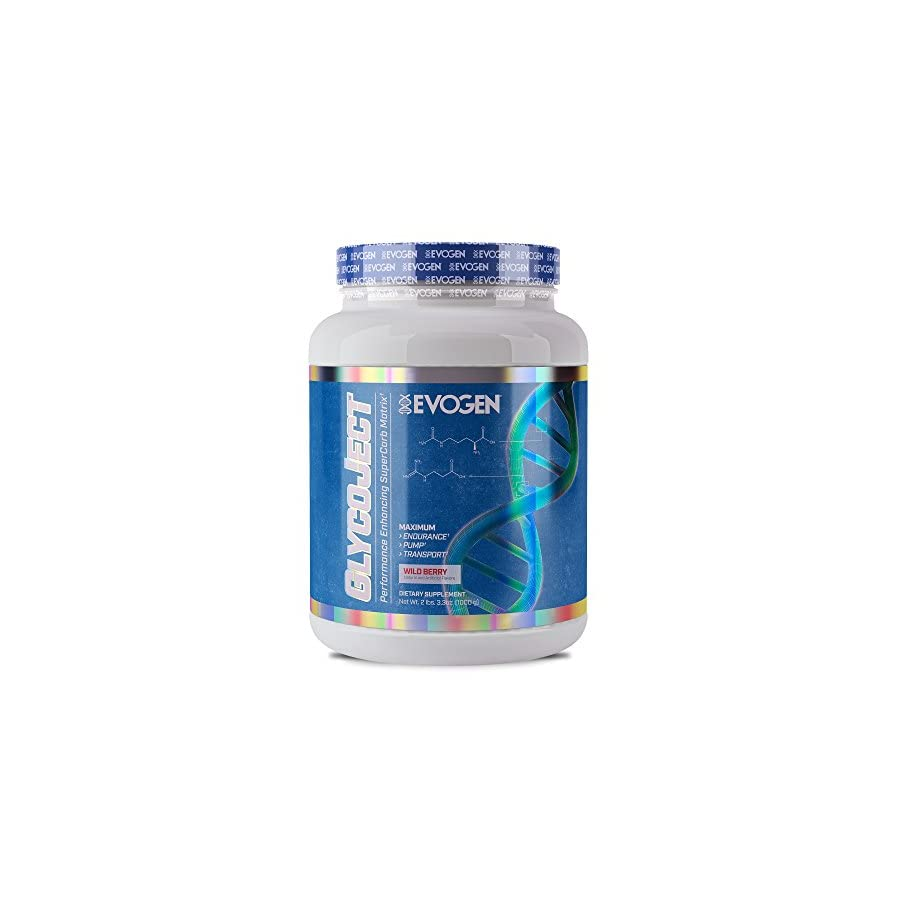 Evogen GlycoJect | Extreme Karbolyn® Carbohydrate Powder | Wild Berry | 36 servings