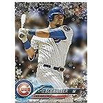 2018 Topps Chrome Superstar Sensations Refractors #SS-10 Kyle Schwarber Cubs Baseball Card NM-MT