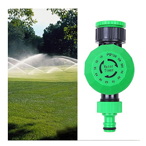 Foutou 2 hours Automatic Sprinkler Irrigation Controller, Mechanical Water Timer for Garden
