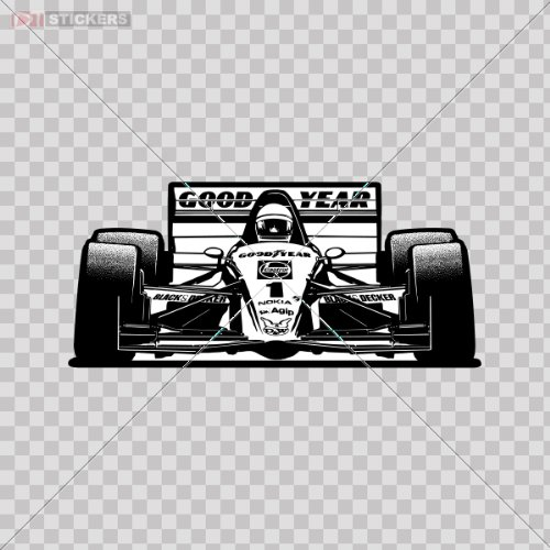 Stickers Decals F1 Car Logo Car Window Wall Art Decor for sale  Delivered anywhere in USA