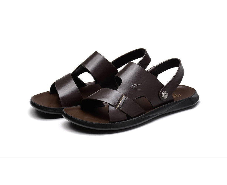 LEDLFIE Sommer Sandalen Sandalen Wasserdicht Strand Schuhe Casual Sandalen Sandalen und Hausschuhe Braun b0eff7
