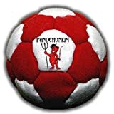 Footbag Inferno 32 Panels Hacky Sack Bag Sand & Iron Weighted At 2.1 Onces