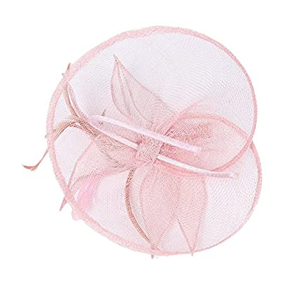 Koola's Hats Womens Organza Hand-made Headdress Marriage Hats Wedding Mini Top Hats