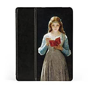Ophelia by Pierre Auguste Cot Premium Faux PU Leather Case, Protective Hard Cover Flip Case for Apple? iPad 2 / 3 and iPad 4 by Painting Masterpieces + FREE Crystal Clear Screen Protector