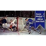 Jacques Plante, Dave Keon, Jacques Laperriere Hockey Card 1994 Parkhurst Tall Boys 64-65 #176 Jacques Plante, Dave Keon, Jacques Laperriere