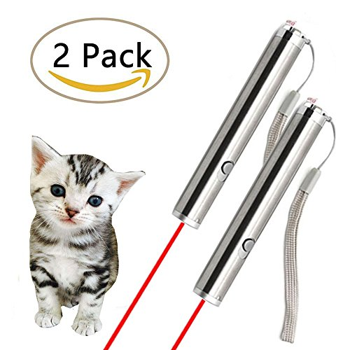 OCALER Professional Pet Cat Catch the Beam Light Interactive