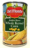 Delmonte Golden Sweet Whole Kernel Corn (Pack of 3) 15.25 oz Cans