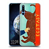 Official Stephen Huneck Ecstasy Choc Pet Dog Hard Back Case Compatible for Huawei Honor Magic 2