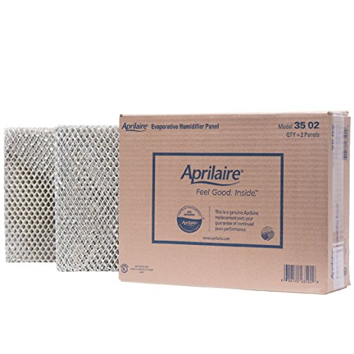 Aprilaire 35 Water Panel for Humidifier Models 350, 360, 560, 568, 600, 700, 760, 768; Pack of 2 - Panel Replacement Filter