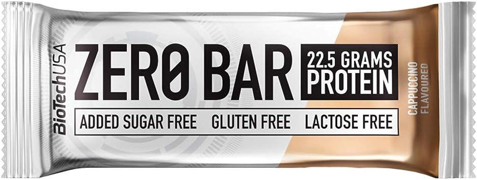 BioTech USA - Zero Bar, 10 x 50g Cappuccino