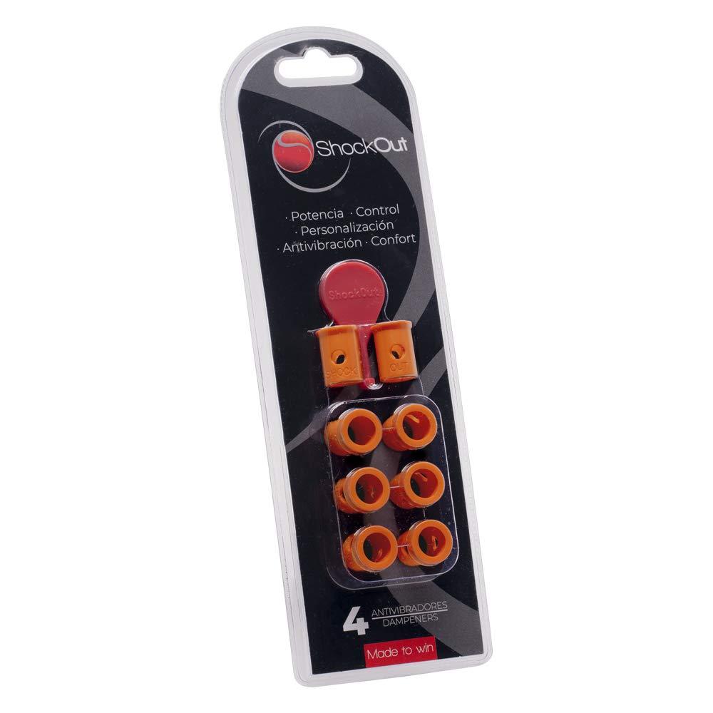ShockOut Antivibrador Padel (Naranja): Amazon.es: Deportes y aire ...