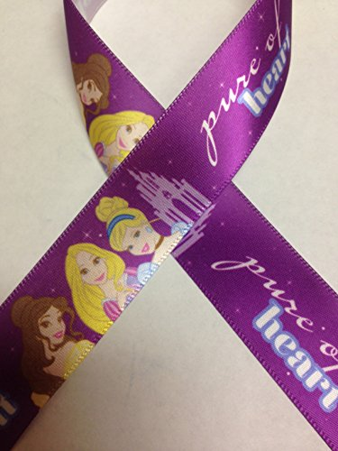 Offray Disney Princess Ribbon, 7/8