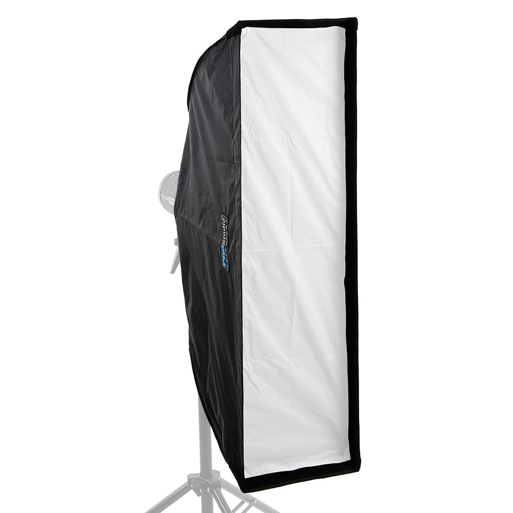 Fotodiox EZ-Pro Strip Softbox 9x36'' (22x90cm) - Collapsible Strip Softbox with Photogenic Speedring for Norman ML and Compatible