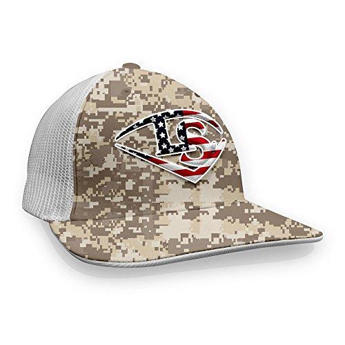 Louisville Slugger Camo USA Baseball/Softball Trucker Hat