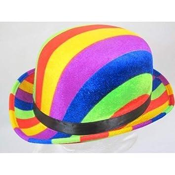 Bowler Hat Rainbow colours 61cm by Creative  Amazon.co.uk  Toys   Games b759471e927