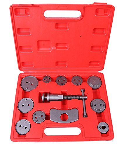 Cartman 12pcs Disc Brake Caliper Wind Back Tool Kit ()