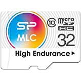 Silicon Power-32GB MLC High Endurance DashCam MicroSD with Adapter