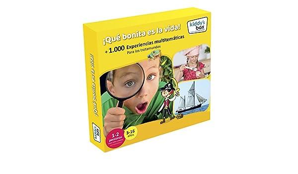 FamilyS Box - Pack experiencia ¡qué bonita es la vida! kiddys ...