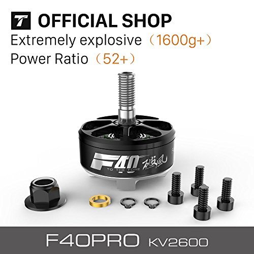 T-motor Latest Upgraded FPV Motor F40pro KV2600 For Racing Quadcopter by T-Motor