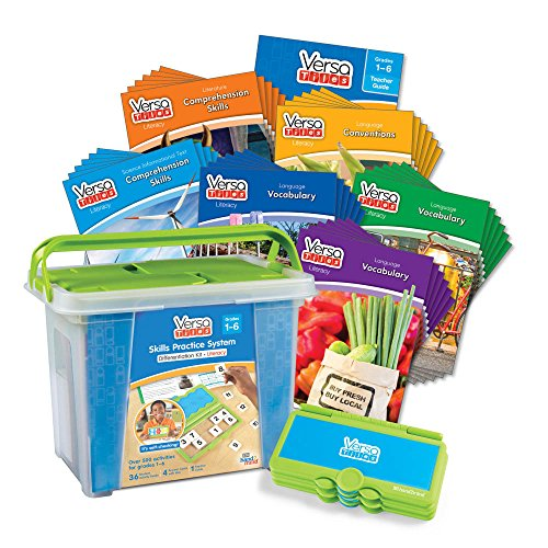 ETA hand2mind VersaTiles Literacy Differentiation Kit by ETA hand2mind