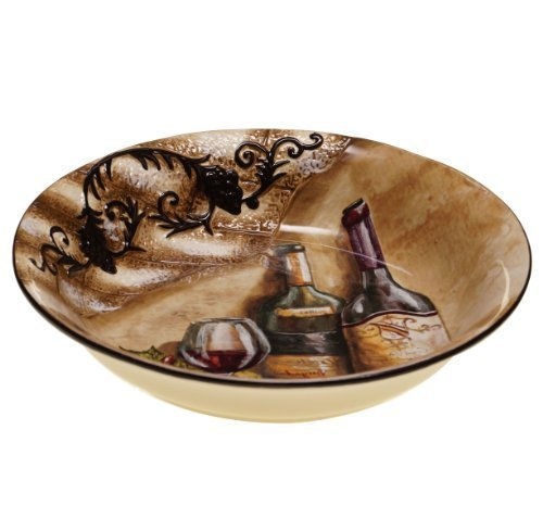 Certified International Tuscan View Serving/Pasta Bowl, 13 by 2.5-Inch by Certified International