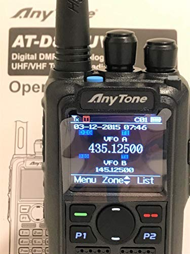 AnyTone AT-D878UV GPS and 2 Free Items !! Updated firmware Upgraded 3100mAh Battery Dual Band DMR/Analog 144 & 480 MHz Radio by AnyTone (Image #5)