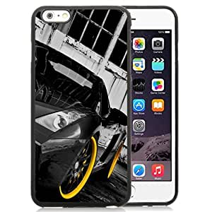 New Personalized Custom Designed For iPhone 6 Plus 5.5 Inch Phone Case For Black Lamborghini Gallardo Phone Case Cover
