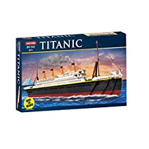 OXFORD Block TITANIC Brick Toy - Rocket Delivery(within 7 days)