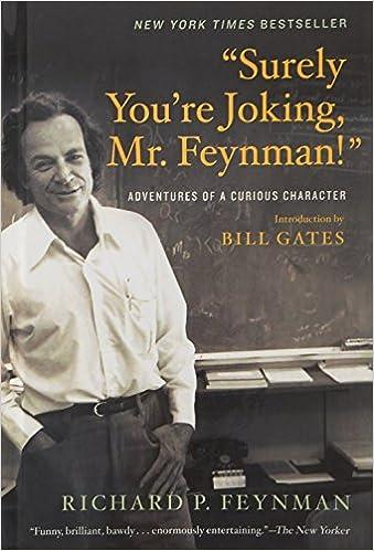 surely youre joking mr feynman audiobook