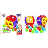 Toyztrend Educational Shape Sorter Ball with Shapes All Around