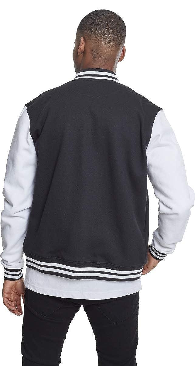 Xxxx wht blk large 00050 Multicolore 2 Urban Blouson tone Classics Homme College Sweatjacket wZzq0HR