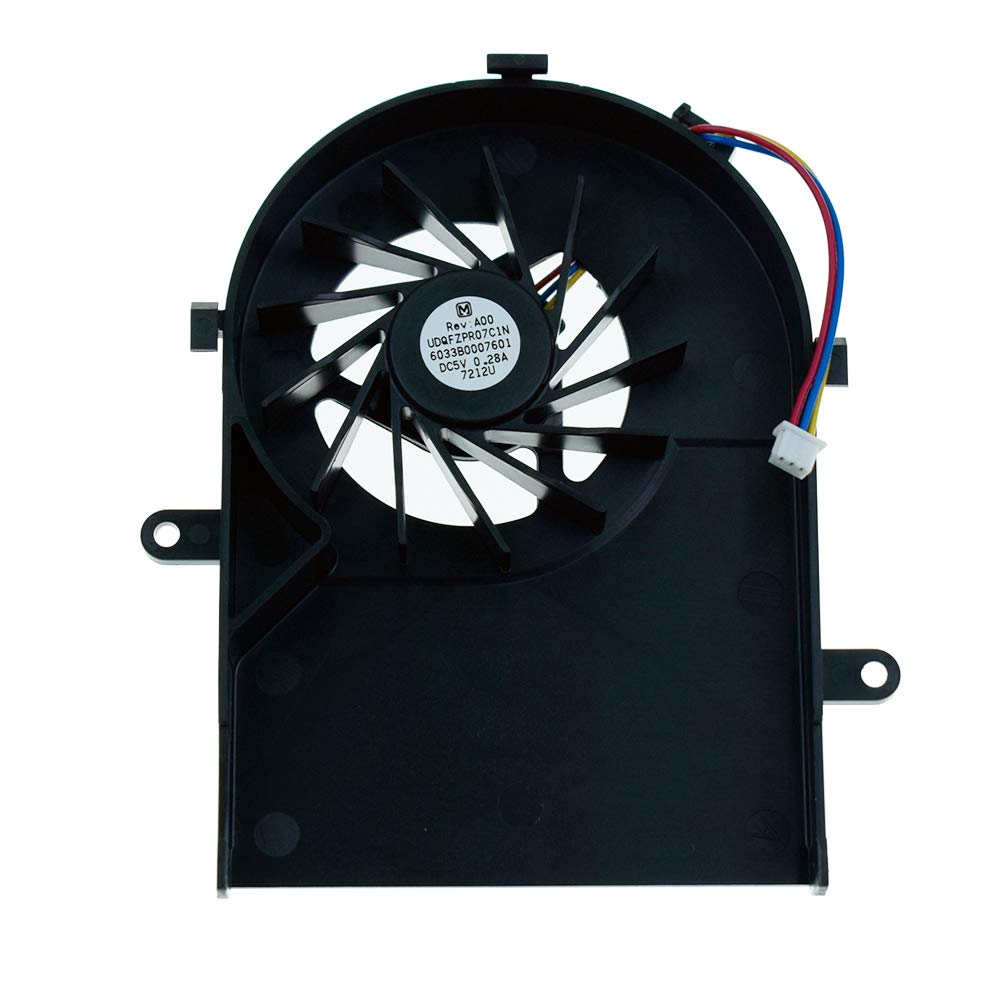 DREZUR CPU Cooling Fan Compatible for Toshiba Satellite A100-283 A105 A100-169 A100-480 A100-02B A100-491 A100-777 A100-784 A100-785 A100-786 A100-787 Series Laptop