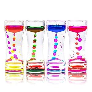 picture of Super Z Outlet Liquid Motion Bubbler for Sensory Play, Fidget Toy, Children Activity, Desk Top, Assorted Colors (1 Piece)