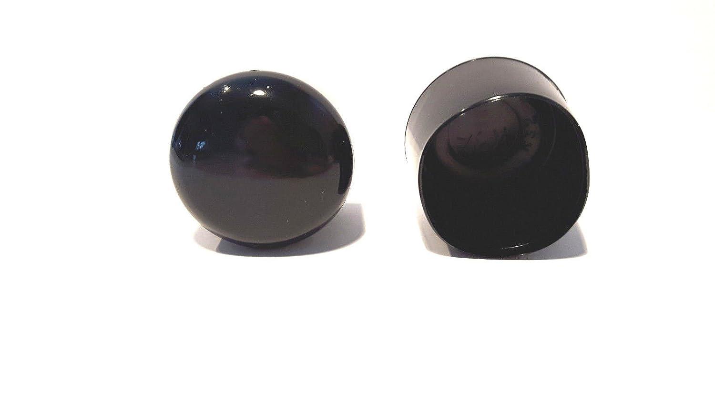 pour tubes ronds//barres rondes//bouchons noir 50 bouchons