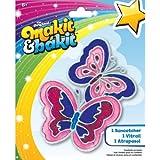 Colorbok Makit and Bakit Suncatcher Kit-Butterflies