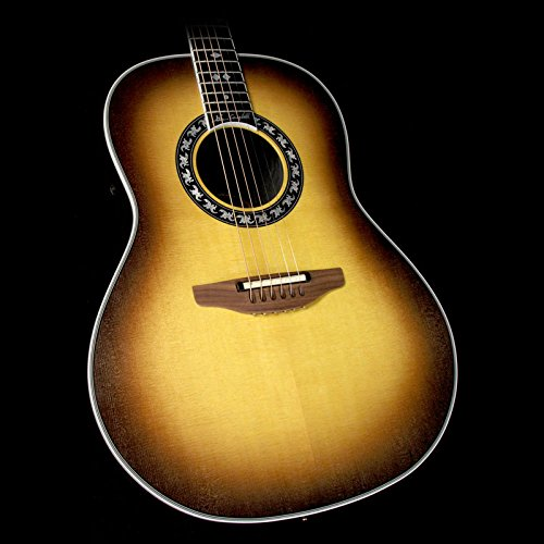 Adamas Acoustic Electric Guitar (Ovation 1627GC-1 Glen Campbell USA Custom Legend Acoustic-Electric Guitar Non-Cutaway Sunburst)