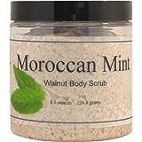 Moroccan Mint Walnut Body Scrub, 16 oz