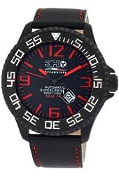 3H Men's DPB1R 52MM Black PVD Automatic Black Dial Interchangeable Band Watch