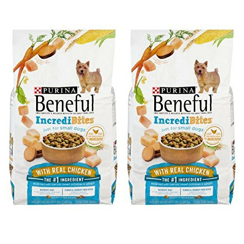 *Purina Beneful IncrediBites With Chicken Dry Dog Food 3.5 lb. Bag (2 pack)