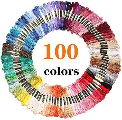Laojbaba Rainbow Embroidery Bracelets Threads product image