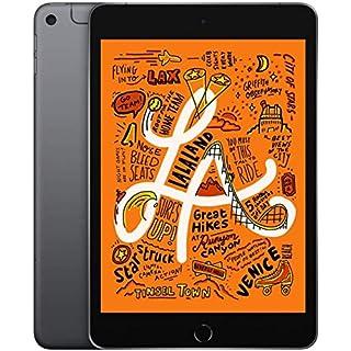 Apple iPad Mini (Wi-Fi + Cellular, 64GB) - Space Gray (Latest Model) MUXF2LL/A (Renewed)