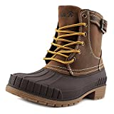 Kamik Evelyn Waterproof Winter Snow Boot Shoe - Dark Brown - Womens - 6
