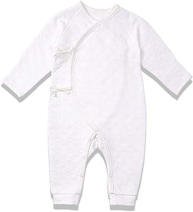 Nouveau-n/é B/éb/é Gar/çons Pyjama Combinaison en Coton Barboteuse /à Manches Longues 0-3 Mois