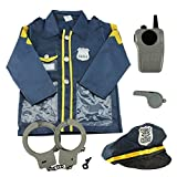 Kids Role Play Costume Set Leaning Pretend Halloween Costume and Assessories,3-7 Years