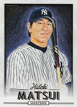 Amazoncom 2018 Topps Gallery 165 Hideki Matsui Yankees
