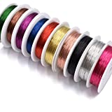 Assorted Colors 0.3MM Copper Wire Fly Tying Materials Fly Fishing Handmade materials for Jewelry