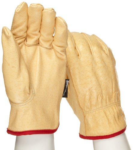 West Chester 9940KT Leather Glove, Small (Pack of 12 Pairs)