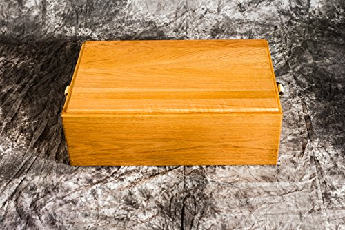 Pet Coffin Casket 24 - Wood Dog Casket, Wooden Pet Caskets, Pet Burial Box by Pinnacle Woodcraft