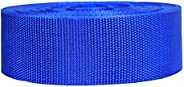 Strapworks Heavyweight Polypropylene Webbing - Heavy Duty Poly Strapping for Outdoor DIY Gear Repair, 2 Inch b