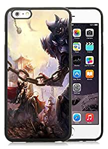 Popular Designed Case With Gladiator Battle Cover Case For iPhone 6 Plus 5.5 Inch Black Phone Case CR-252